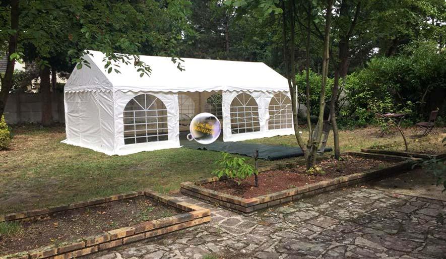 Location Tente de réception de 18m2 pour 18-22 personnes